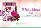 8 gift ideas valentine week