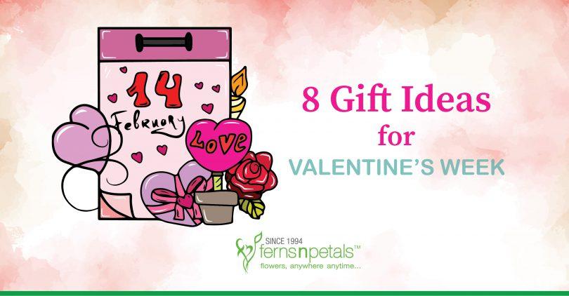 8 gift ideas valentine week