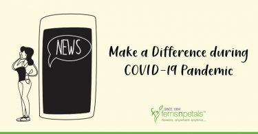 Make a difference during COVID-19 Pandemic