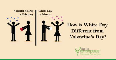 Difference between White Day and Valentines Day