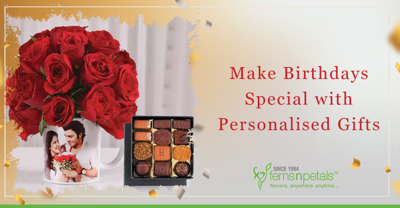 Make birthdays special with personalised gifts
