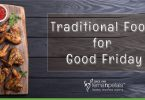 ‌Traditional food items for Good Friday