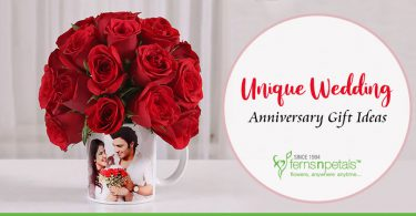 Unique wedding anniversary gifts