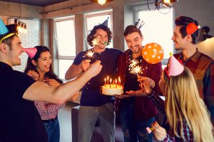Plan a surprise party with friends