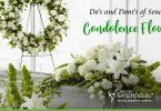 Sending Condolence Flowers