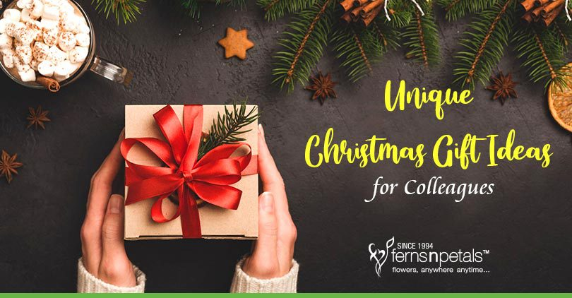 10 Unique Christmas Gift Ideas for Colleagues