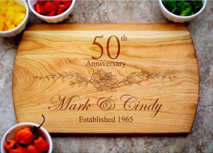 personalised 50th gifts