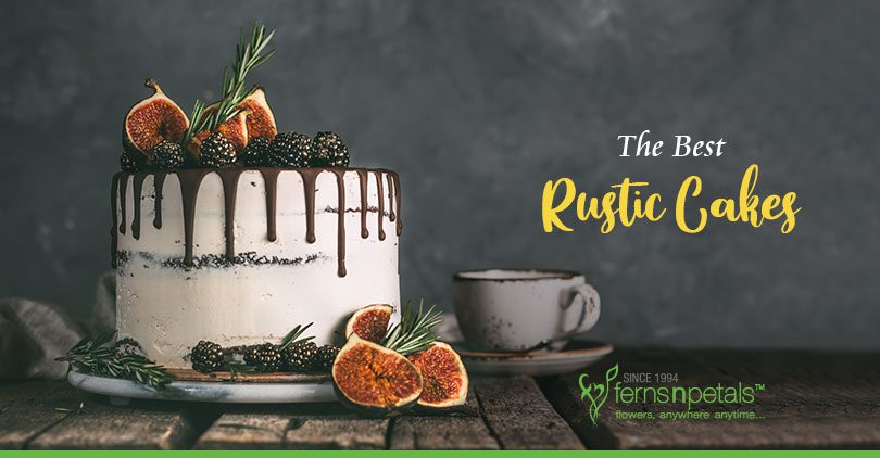 rustic cakes for grand celebrations