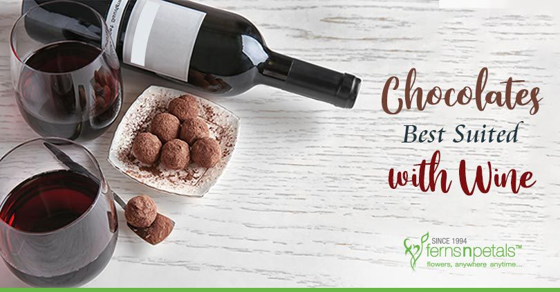 Chocolates with Wine