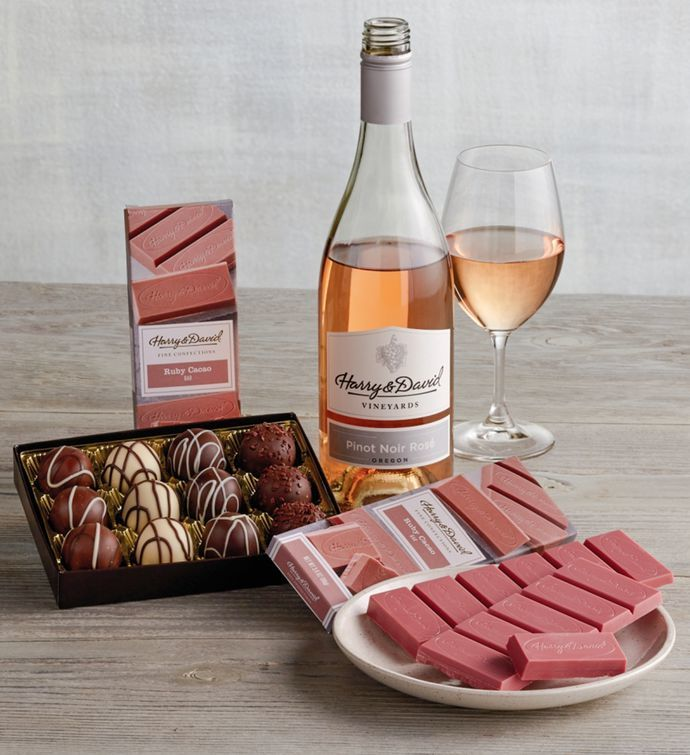 Ruby Chocolate with wine