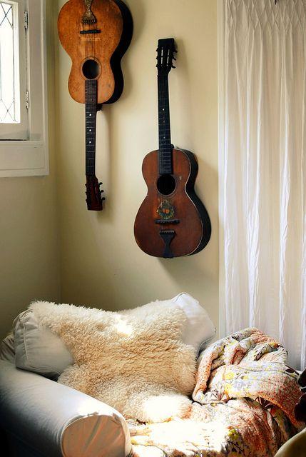 guitar wall hanging