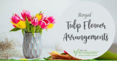 tulips arrangements