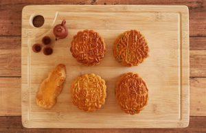 aromatic vegetarian mooncake
